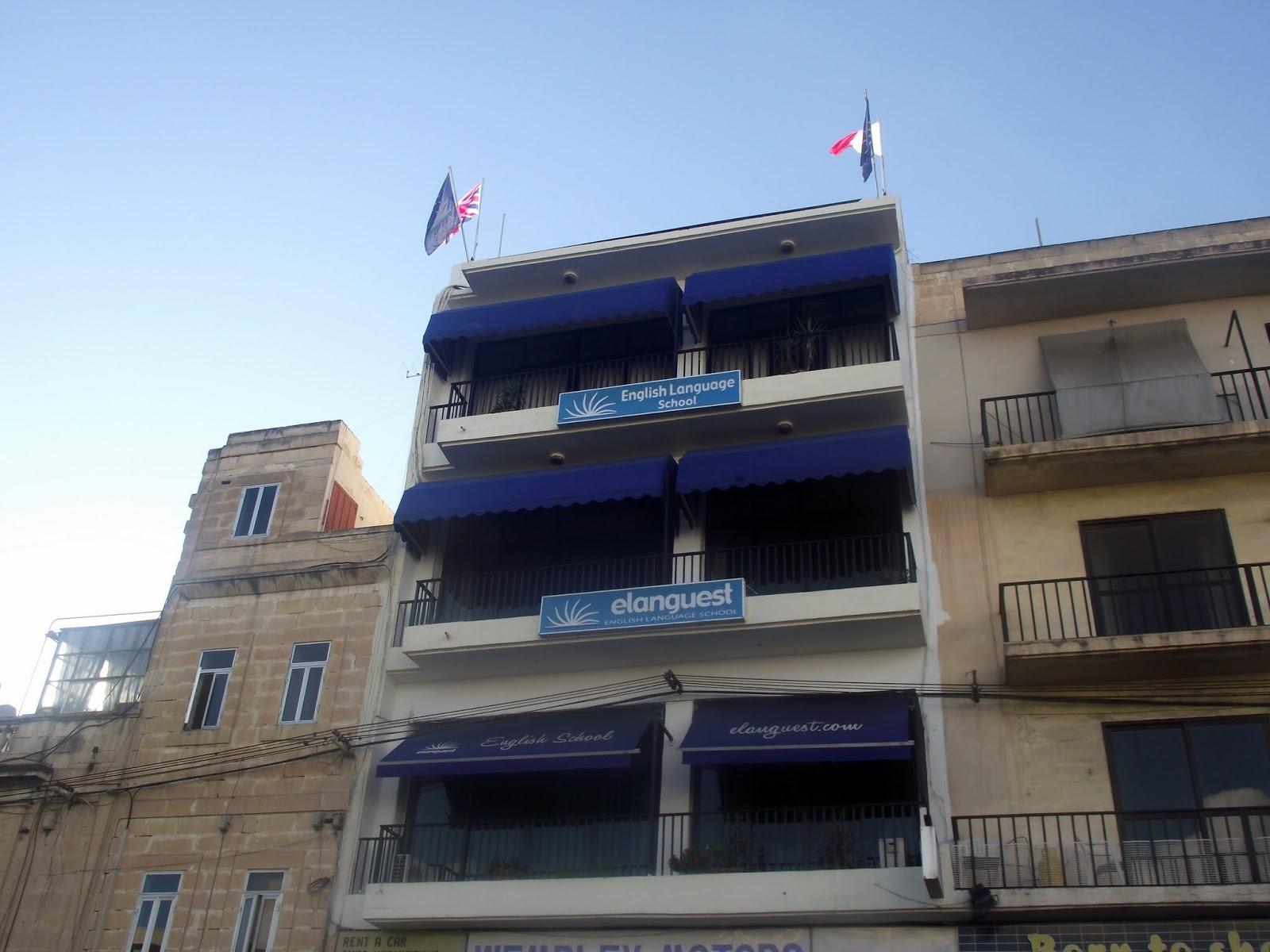 Escuela Elanguest, inglés en Malta