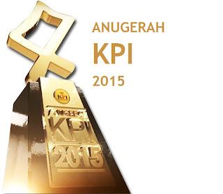 Pemenang dan Nominasi Anugerah KPI 2015