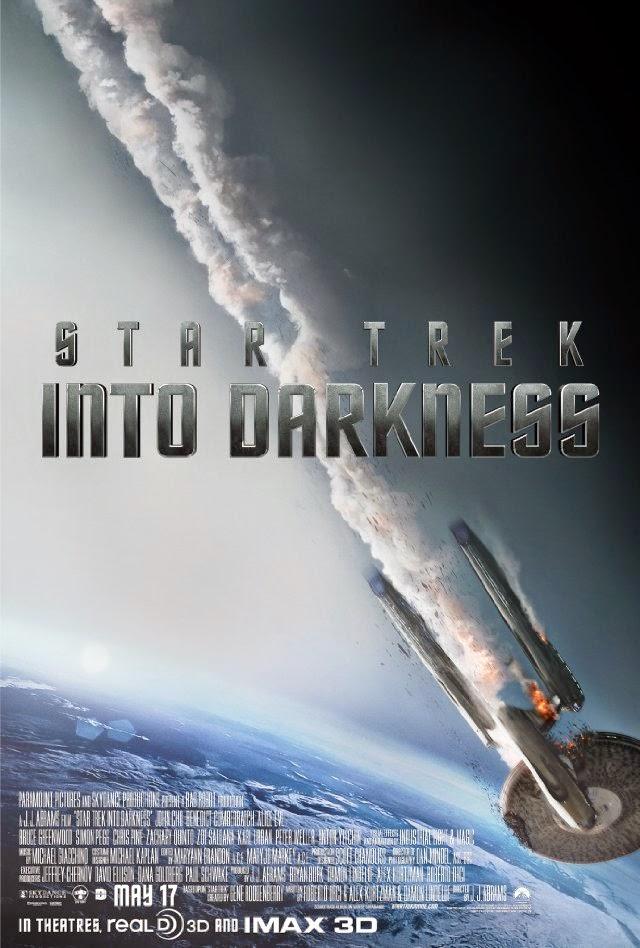 La película Star Trek Into Darkness ( Star Trek: En la oscuridad )