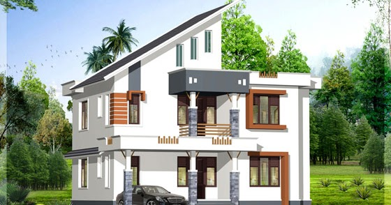 1900 Sq Ft Contemporary Kerala Home Design Home Appliance