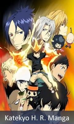Katekyo hitman reborn Manga