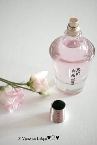 blog parfum : test avis rose paul smith
