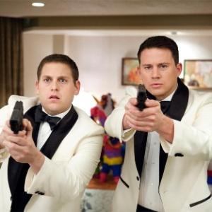 """Jonah Hill e Channing Tatum em cena do filme """"Anjos da Lei"""""""