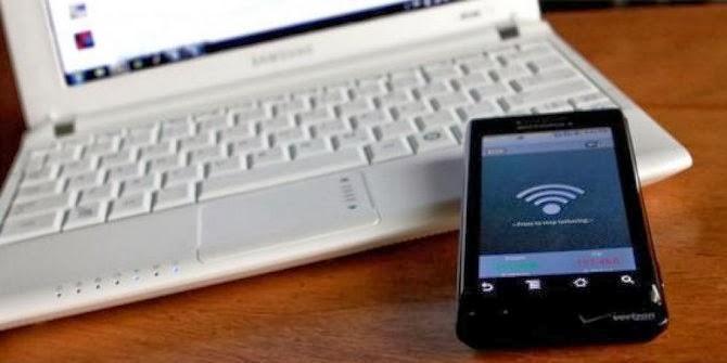 cara membuat Hotspot dengan ponsel