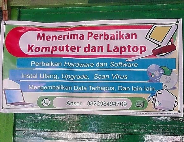 Jasa Perbaikan PC/Notebook Samarinda