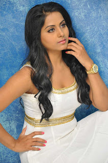 Rachna Mourya Beautiful Spicy in White Sleeveless Tight Gown Spicy Rachna Pics
