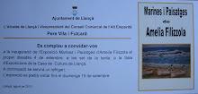 Invitación inauguración exposición en Llançà