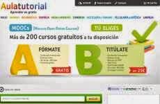 AulaTutorial: más de 200 cursos en línea gratuitos