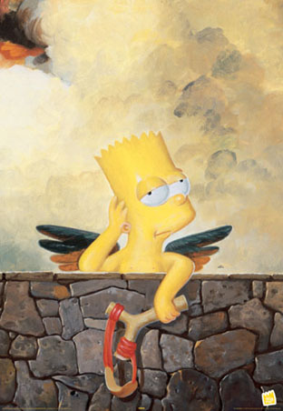  Bart Simpson Cherub 