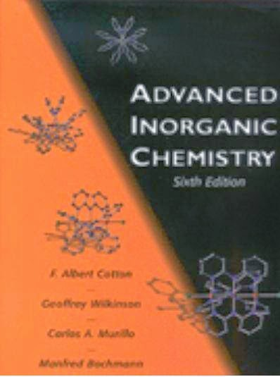 Free chemistry book Advanced Inorganic Chemistry
