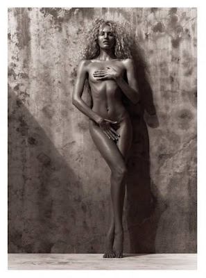 Candice Swanepoel Bares All for Muse Summer 2012