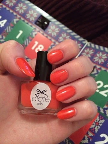 Ciate Advent Calendar, Ciaté Mini Mani Month, Christmas, NOTD