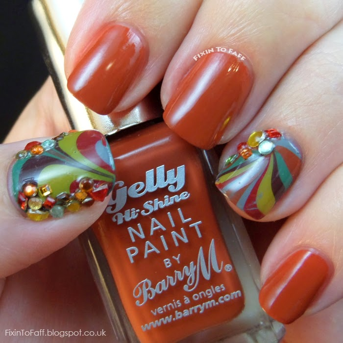 Barry M swatch Paprika