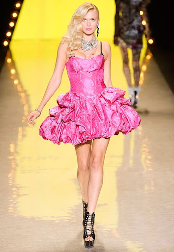 Къса ярко розова рокля от Betsey Johnson