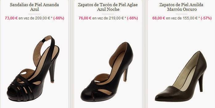 Zapatos de tacones en oferta