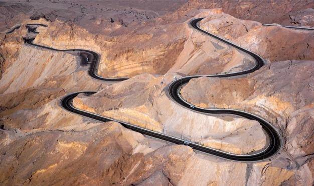 Jebel Hafeet Highway