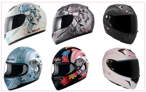 capacetes femininos Capacetes Femininos para motos   Modelos Personalizados