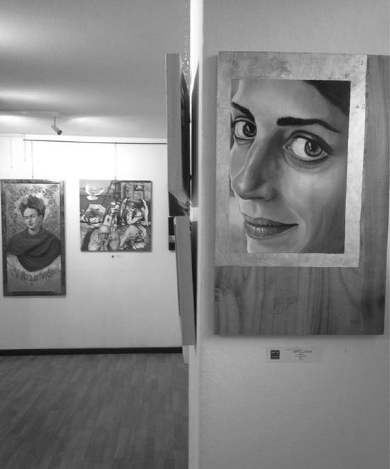Stella, olio su tavola di Monica Spicciani Passepartout Gallery Milano