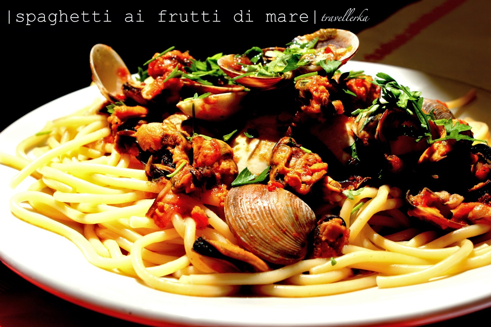 spaghetti ai frutti di mare