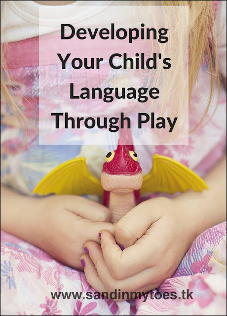 Using play to help your young child improve their language and communication skills.