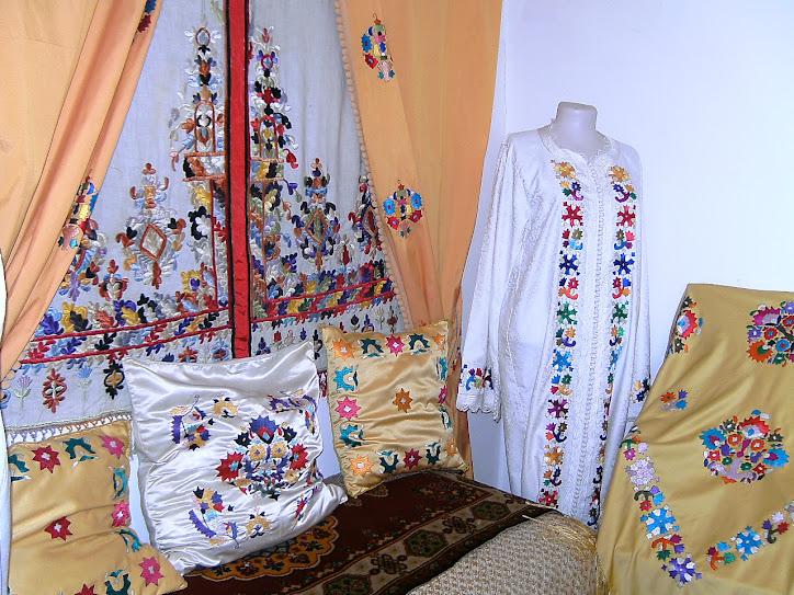 Escuela de artesanía en Tetuán (Marruecos)