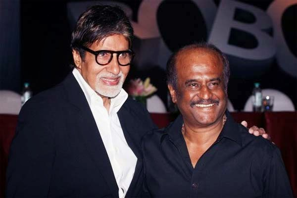 Amitabh, Rajinikanth at 'Kochadaiiyaan' Curtain Raiser