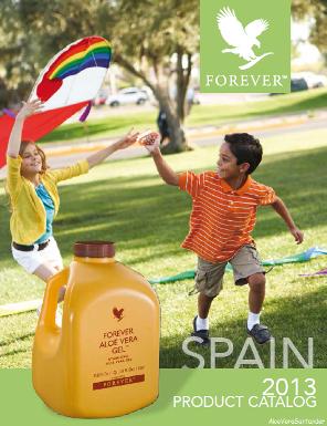 Catálogo Productos Forever 2013
