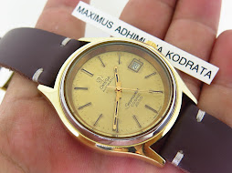 OMEGA SEAMASTER COSMIC 2000 GOLD TOP - AUTOMATIC CAL 1012