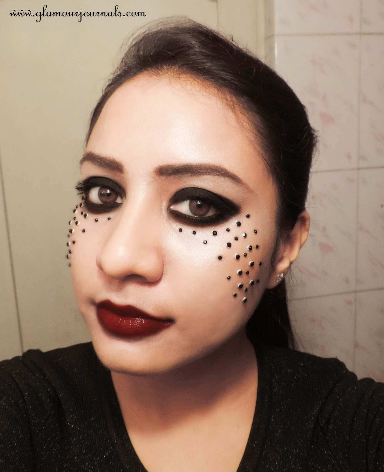 Dark Princess | Halloween Makeup & Outfit Tutorial | Glamour Journals