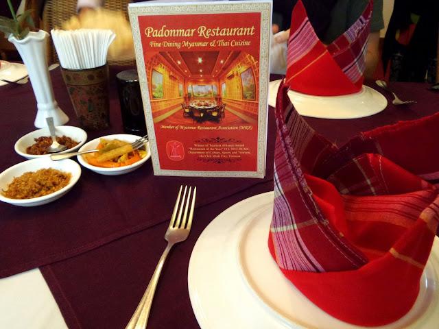 Avventure nel Mondo - Dolce Burma - ristorante Padonmar -  Yangoon
