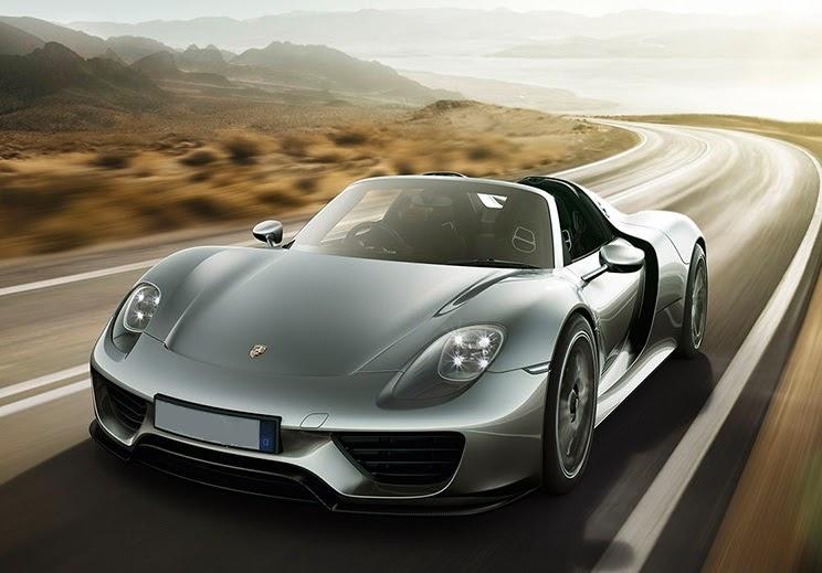 Porsche 918 Spyder Hybrid Car Reviews New Car Pictures