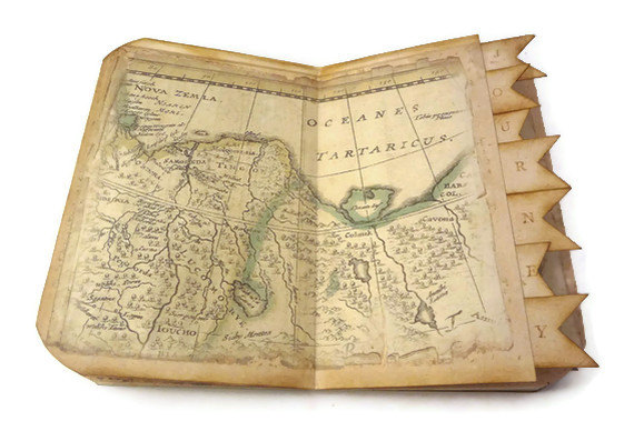 Espresso yourself giveaway time travel journal travel scrapbook i know i do thats why i created this vintage inspired old world map journal or scrapbook and now you have a chance to get it for free solutioingenieria Images