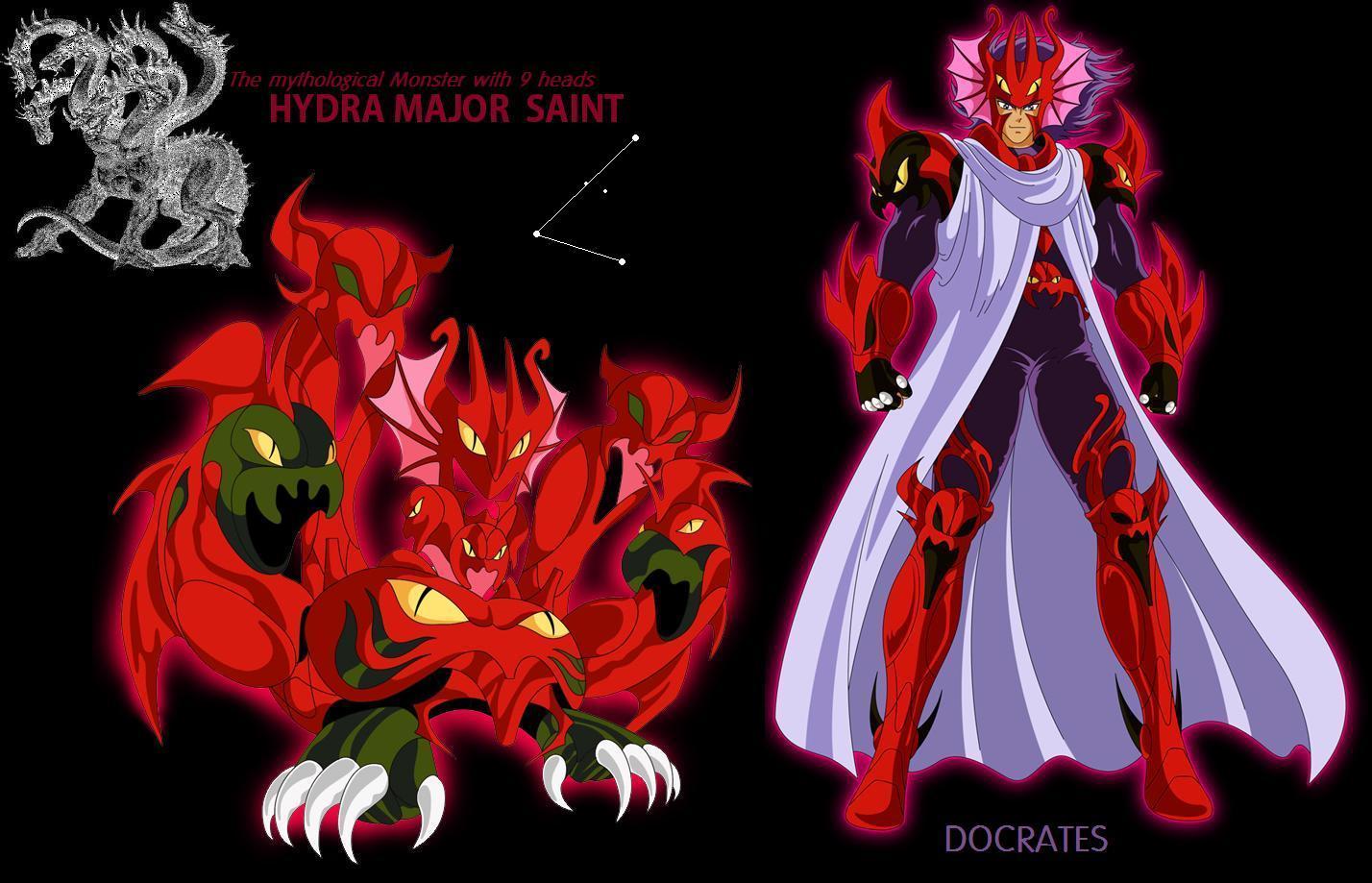 Caballero de Bronce Docrates de Hydra Lerna - Sonata Saints Hydra_Major_Saint