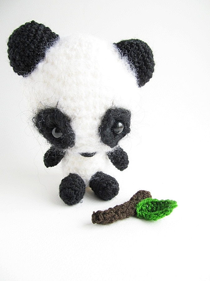 {Amigurumi Miku the Panda Pattern} - Little Things Blogged
