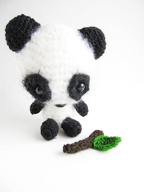 Easy Amigurumi Panda Patterns : {Amigurumi Miku the Panda Pattern} - Little Things Blogged