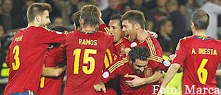 selecion española de futbol