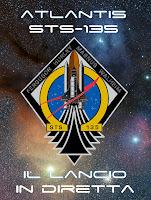 Atlantis+STS 135+Il+Lancio Diretta web TV del lancio dello Space Shuttle Atlantis STS 135. 8 luglio 2011 ore 16.00