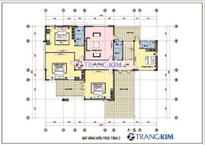 Tư vấn thiết kế biệt thự 280m2