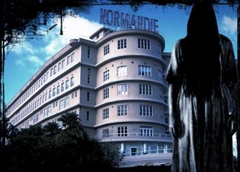 Los hu spedes del hotel normandie sombras en san juan for Hotel design normandie