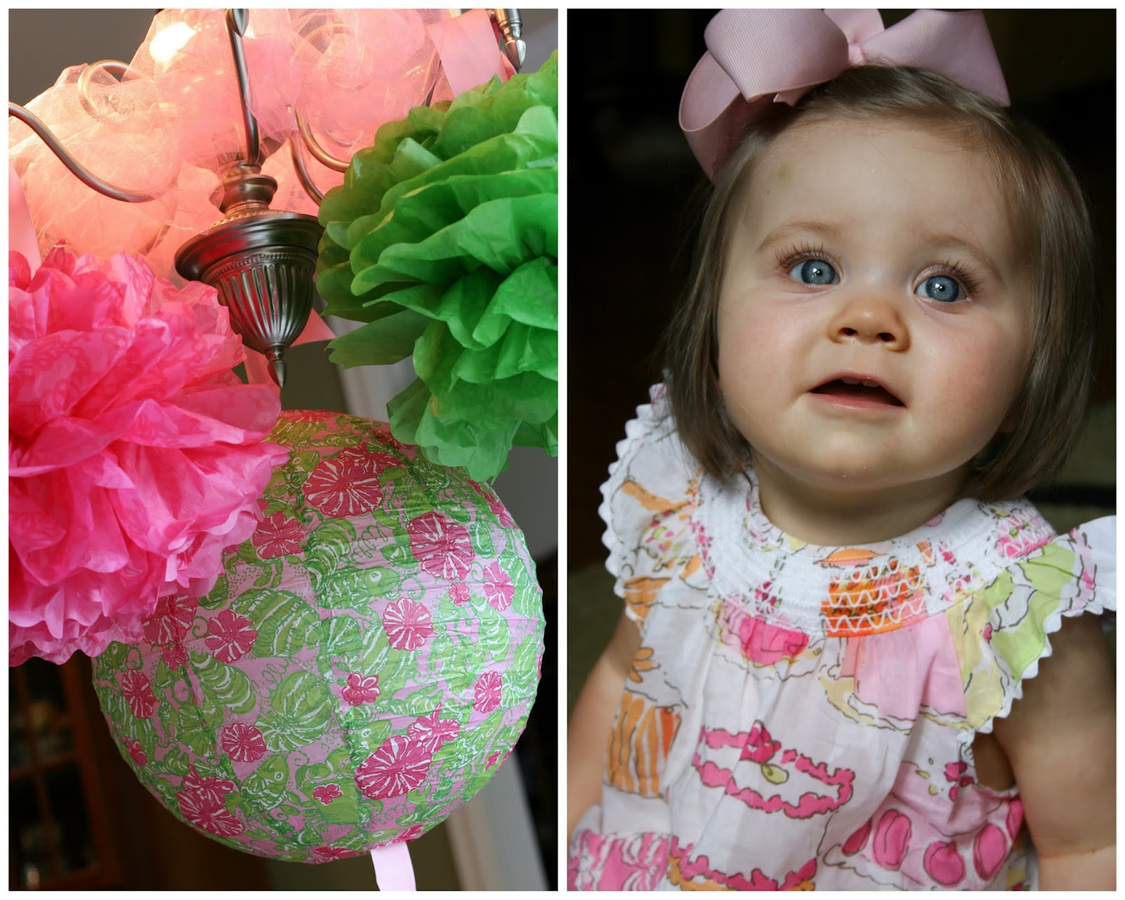 Real Party Lilly Pulitzer Inspired 1st Birthday Party Mirabelle