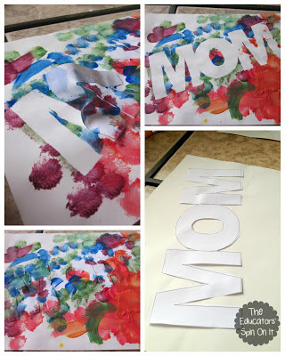 Mother's Day Craft from The Educators' Spin On It