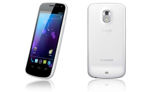 galaxy nexus white samsung