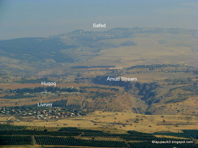 Livnim Israel  City new picture : THROUGH THE LAND OF ISRAEL III: Far views from Arbel Cliffs: special ...