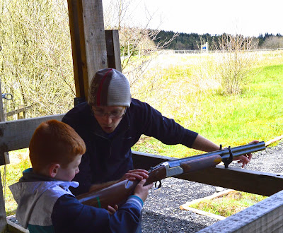 Laser Clay Shooting for children at The Calvert Trust, Kielder - A review