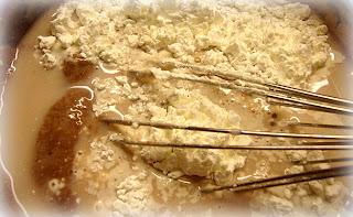 Crostata  con   crema  di pere cacao e cannella