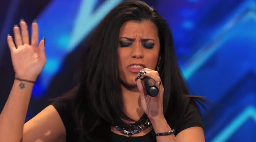 "Kelli Glover Sings Rendition from Whitney Houston's hit ""I Have Nothing"" on America's Got Talent Season 9 Auditions"