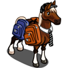 FarmVille Back To School Horse