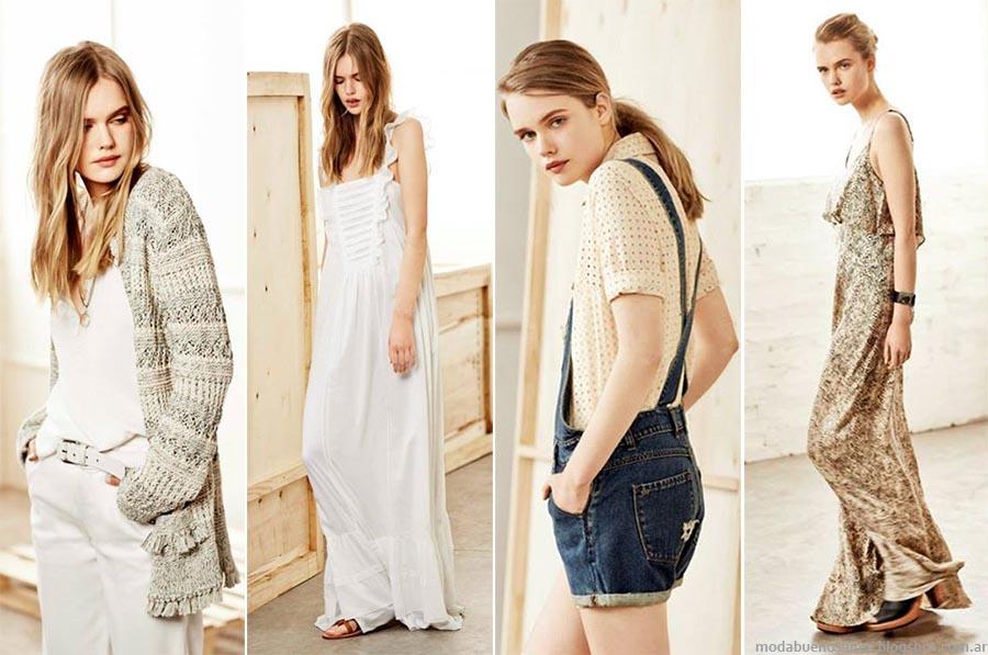 Moda verano 2015. Paula Cahen D'Anvers primavera verano 2015 vestidos, faldas, blusas y trajes de mujer.