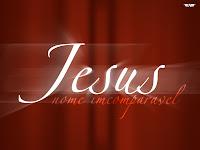 Imagem de Jesus nome incomparável
