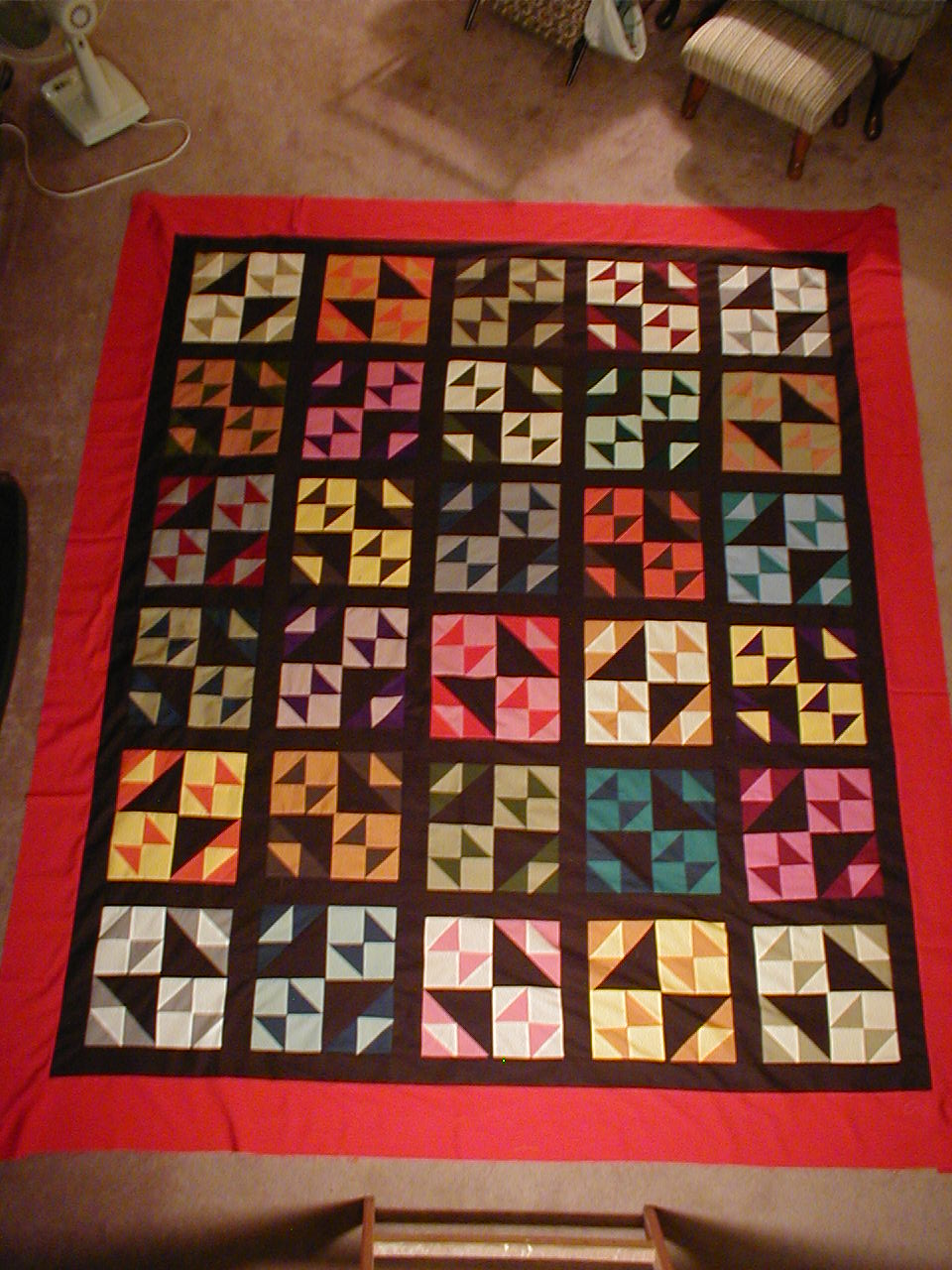 as own thank for quilting a togethers updates adinkra man he you together news ghana beautiful mr first our quilt made symbols s kathryn herself